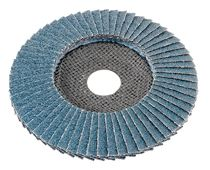 Flex Flap disc for metal and stainless steel 125mm 60 grit Cambered - 349.925