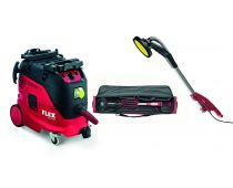 Flex Safety Vacuum Cleaner VCE 33 M AC 110V with Giraffe Sander GE 5 - 444.243K