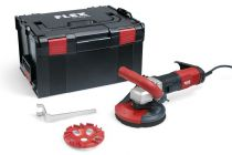 Flex Compact renovation grinder for dust-free grinding close to edges 125mm LD 16-8 125 R Kit E-Jet 504.955